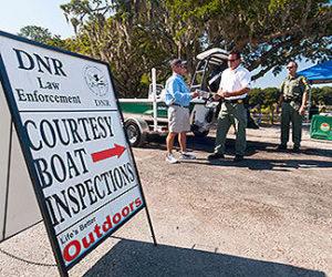 Courtesy Boat Inspection