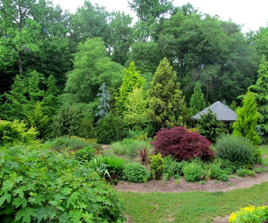 Hatcher garden and woodland preserve is a local gem for Local landscape gardeners