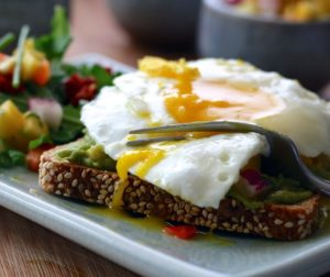 Egg and Salad Dish