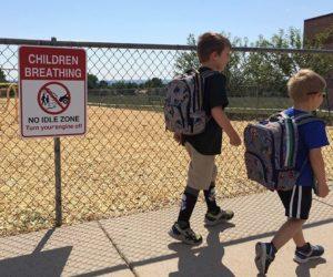 No Idle Zone at School