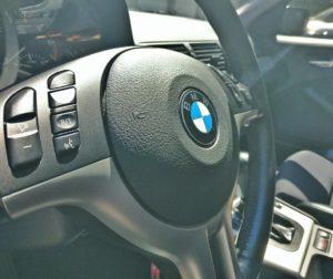 Inside a BMW