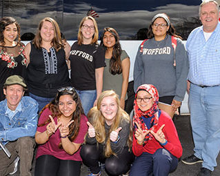 Wofford's chapter of the Interfaith Youth Core (IFYC)