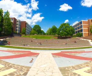 Clemson Garden's Amphitheater