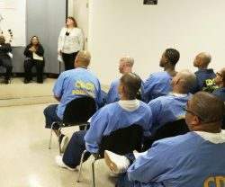 Prisoners Attending Class