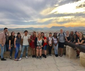 USC Upstate students in Alicante, Spain