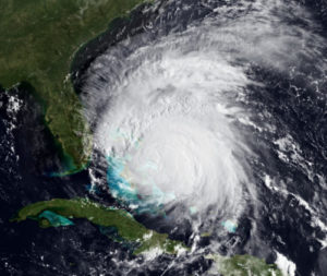 Hurricane Approaching Southeast