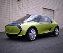 BMW MINI concept vehicle