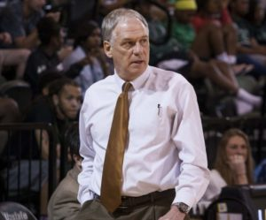 Coach Eddie Payne on the sidelines