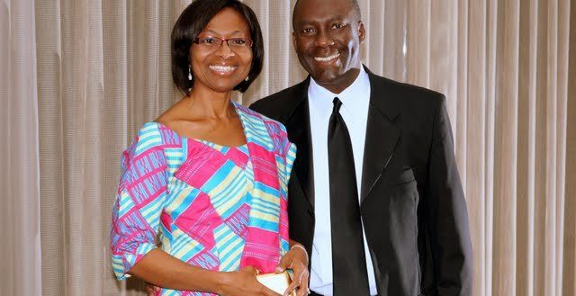 Kodwo Ghartey-Tagoe, South Carolina president of Duke Energy, and his wife Phyllis.